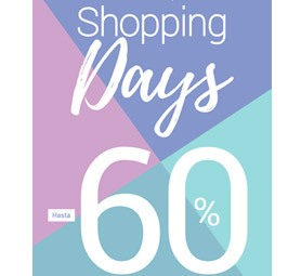 SHOPPING DAYS. Muebles hasta el -60%