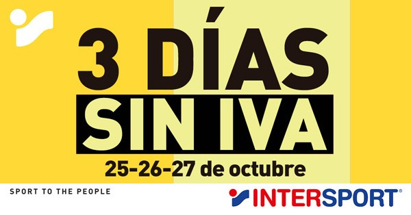 Días Sin Iva Intersport Bouso