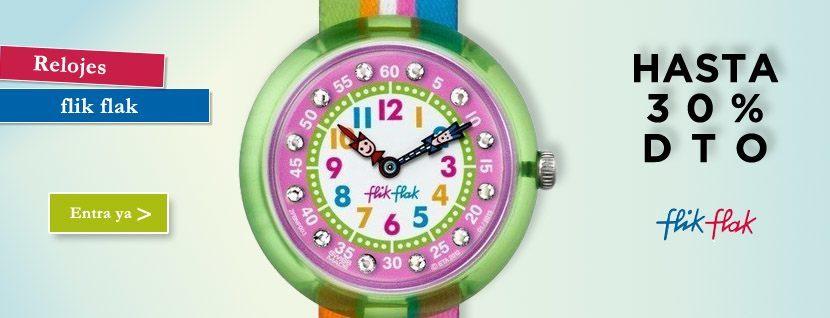 54afd9b2a84d Liquidación Relojes Flik Flak - Ofertas Ourense